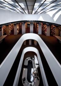 Fotógrafo de edificios-Interior Biblioteca de la Facultad de Filología – Berlín