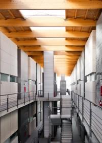 Fotógrafo de edificios-Interior Edificio de lofts - Las Rozas, Madrid