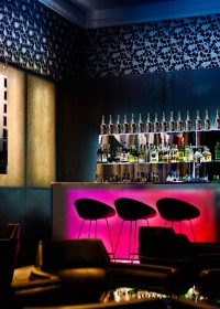 Fotógrafo de edificios-Interior Bar del Hotel AC - Palacio del Retiro, Madrid