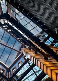 Fotógrafo de edificios-Interior Hall Hotel Urban – Madrid