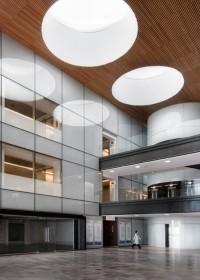 Fotógrafo de edificios-Interior Hospital rey Juan Carlos - Móstoles,  Madrid