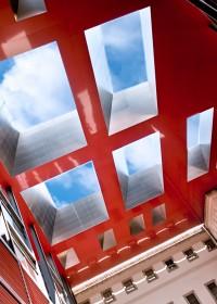 Fotógrafo de edificios-Interior Patio del Museo Reina Sofía – Madrid