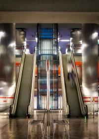 Fotógrafo de edificios -Estacion de Chamartin  Madrid
