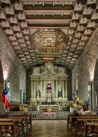 Fotógrafo de edificios-Iglesia de San Francisco    Santiago de Chile