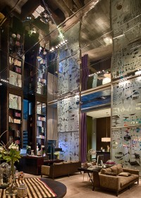 Interior hotel W Santiago de Chile